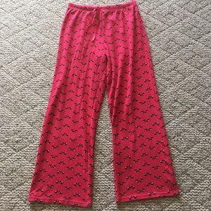 5/$15 Croft&Barrow Red Scottie Sleep Pants Small
